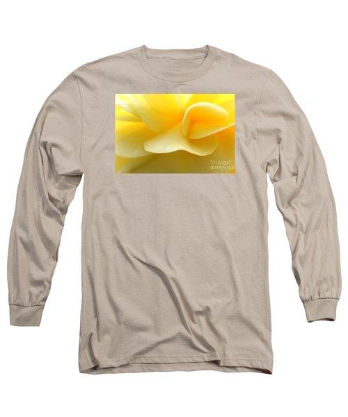 Soft Yellow Long Sleeve T-Shirt