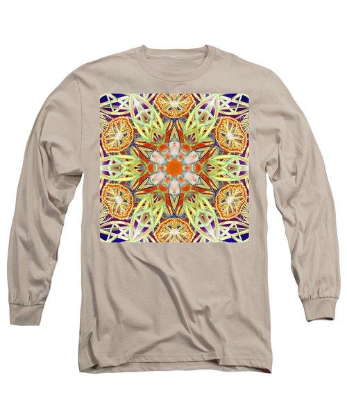 Solar Lattice Long Sleeve T-Shirt