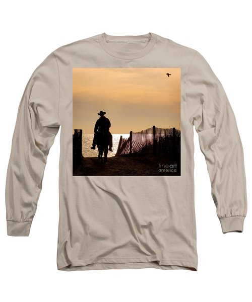 Solitude Long Sleeve T-Shirt by Carol Lynn Coronios