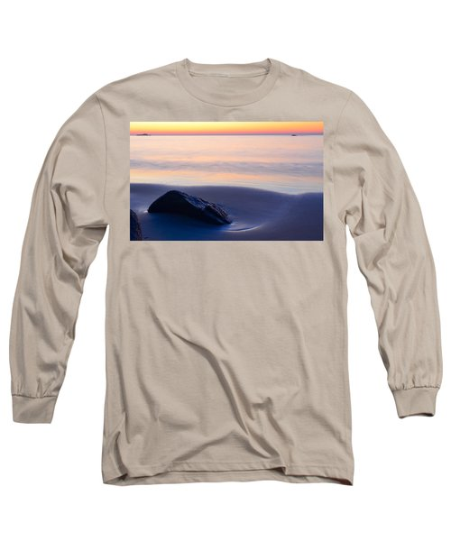 Solitude Singing Beach Long Sleeve T-Shirt