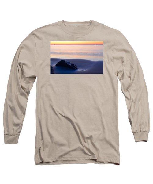 Solitude Singing Beach Long Sleeve T-Shirt
