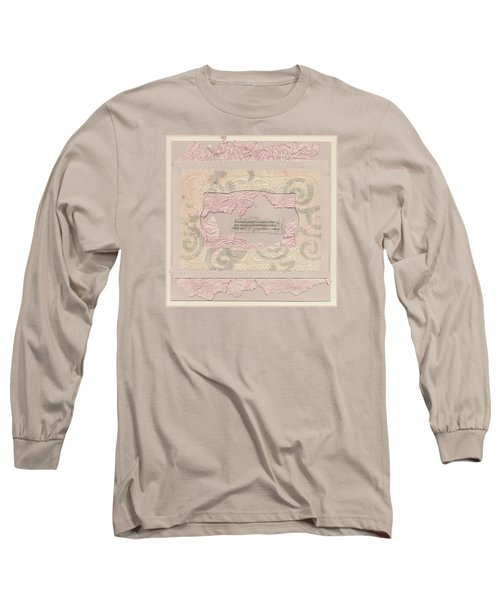 Long Sleeve T-Shirt featuring the mixed media Some People Overvalue ... Quote Art by Sandra Foster