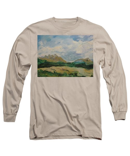Somewhere In Denali Long Sleeve T-Shirt