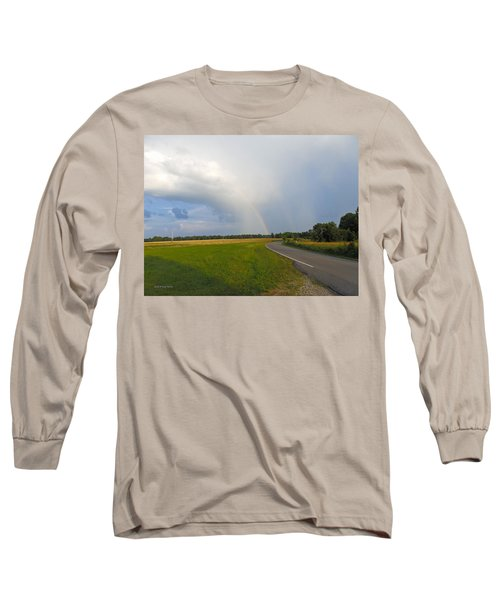 Somewhere Under The Rainbow Long Sleeve T-Shirt by Nick Kirby