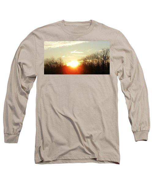 Son Above The Sun Long Sleeve T-Shirt by Nick Kirby