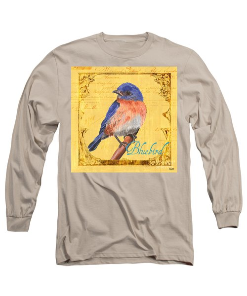 Colorful Songbirds 1 Long Sleeve T-Shirt