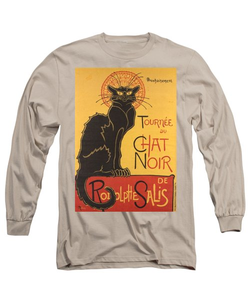 Soon The Black Cat Tour By Rodolphe Salis  Long Sleeve T-Shirt