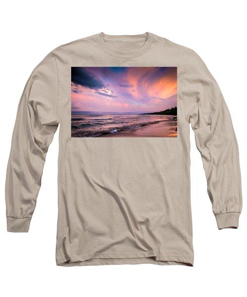 South Beach Clouds Long Sleeve T-Shirt