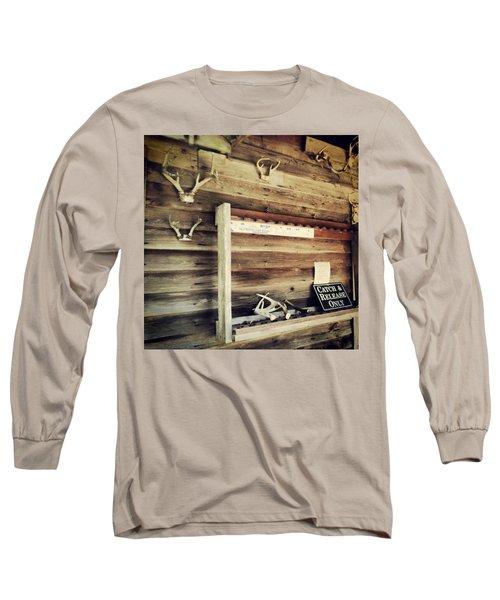 South Carolina Hunting Cabin Long Sleeve T-Shirt
