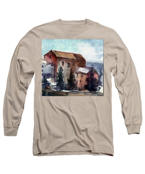 South Long Sleeve T-Shirt by Mikhail Savchenko