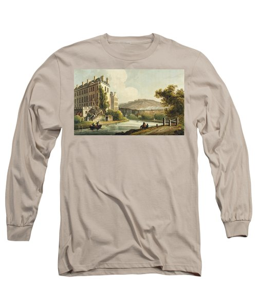 South Parade From Bath Illustrated Long Sleeve T-Shirt