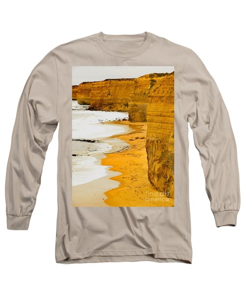 Southern Ocean Cliffs Long Sleeve T-Shirt