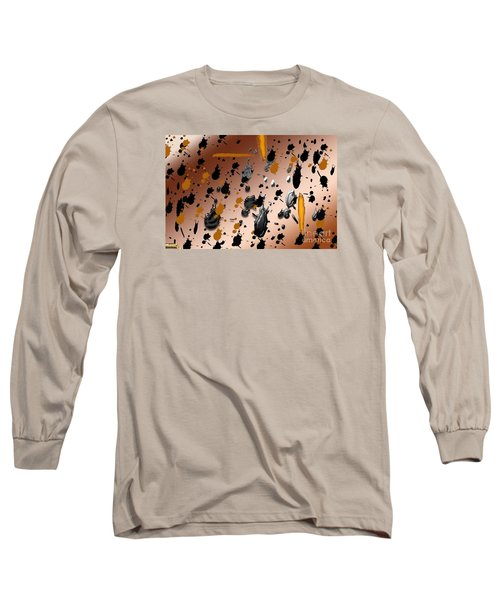 Long Sleeve T-Shirt featuring the photograph Splatters by Tina M Wenger