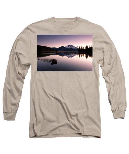 Sparks Lake Sunrise Long Sleeve T-Shirt