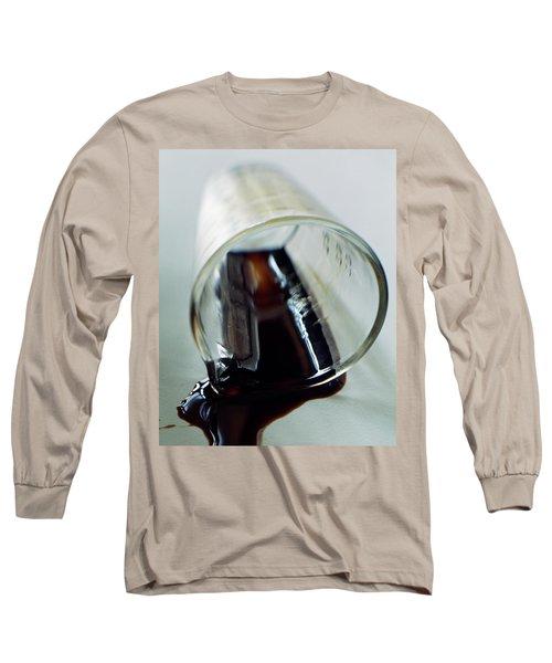 Spilled Balsamic Vinegar Long Sleeve T-Shirt
