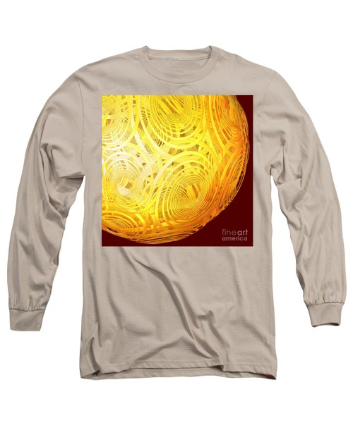 Spiral Sun By Jammer Long Sleeve T-Shirt