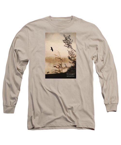 Spirit Of Alaska Long Sleeve T-Shirt by Cynthia Lagoudakis