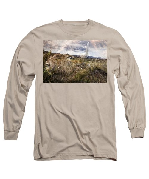 Spirit Of The Past Long Sleeve T-Shirt by Belinda Greb