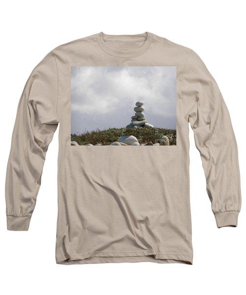 Spiritual Rock Sculpture Long Sleeve T-Shirt