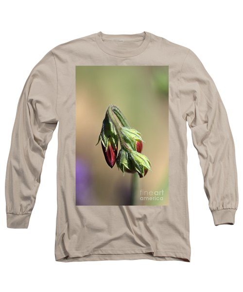 Long Sleeve T-Shirt featuring the photograph Split Pea by Joy Watson