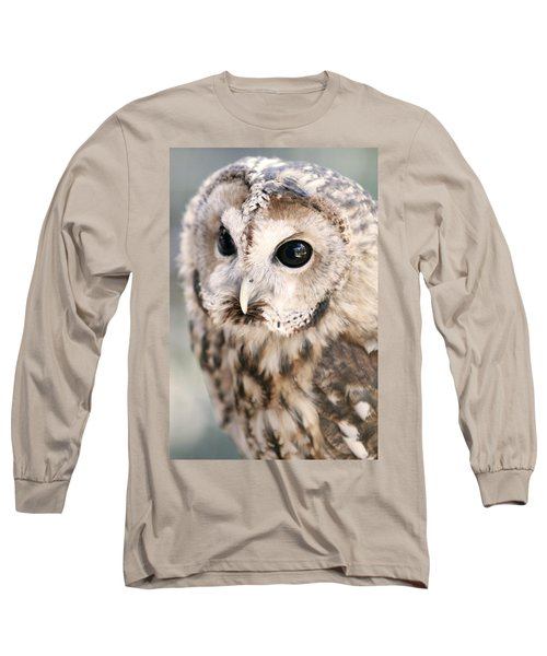 Long Sleeve T-Shirt featuring the photograph Spotted Owl by Shoal Hollingsworth