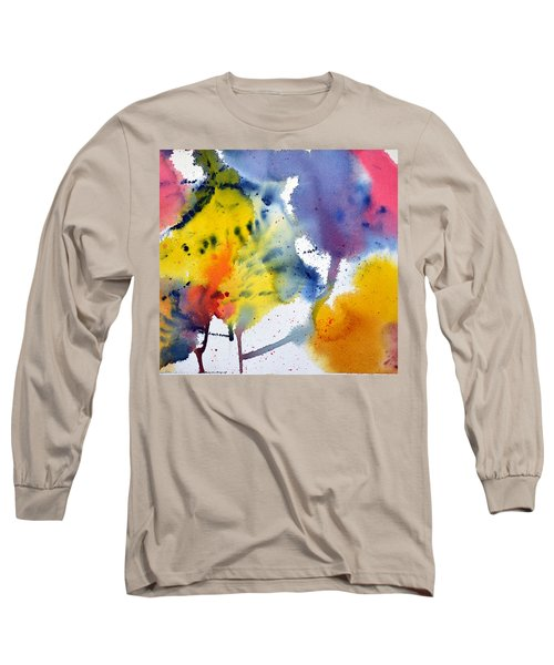 Long Sleeve T-Shirt featuring the painting Spring Fling by Joan Hartenstein