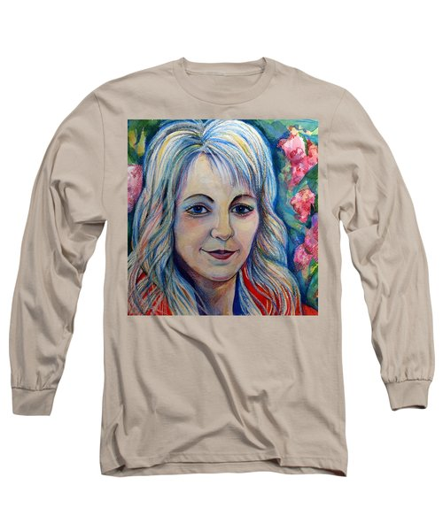 Spring Girls. Part Two Long Sleeve T-Shirt by Anna  Duyunova