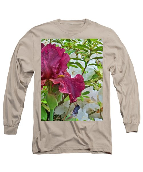 Long Sleeve T-Shirt featuring the photograph Spring Glow by Larry Bishop
