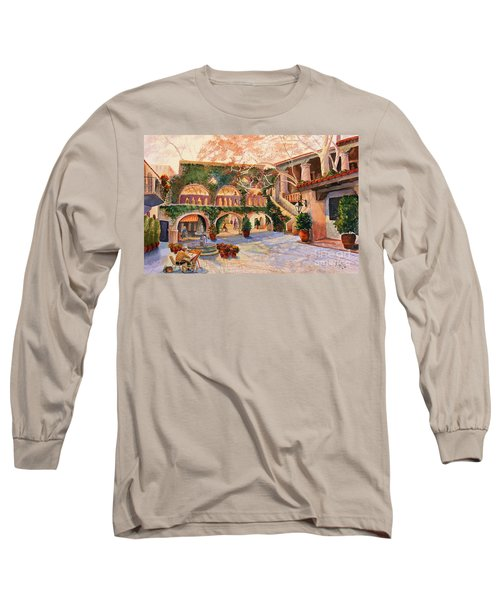 Spring In Tlaquepaque Long Sleeve T-Shirt by Marilyn Smith