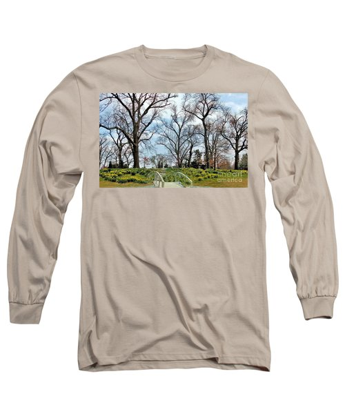 Spring Is Coming Long Sleeve T-Shirt by Janette Boyd