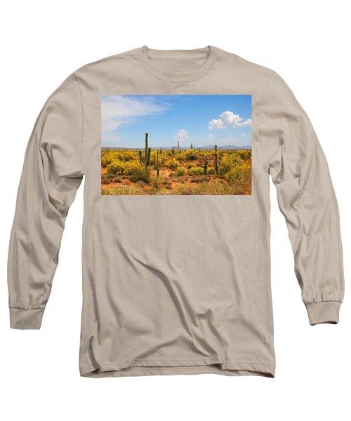 Spring Time On The Rolls - Arizona. Long Sleeve T-Shirt