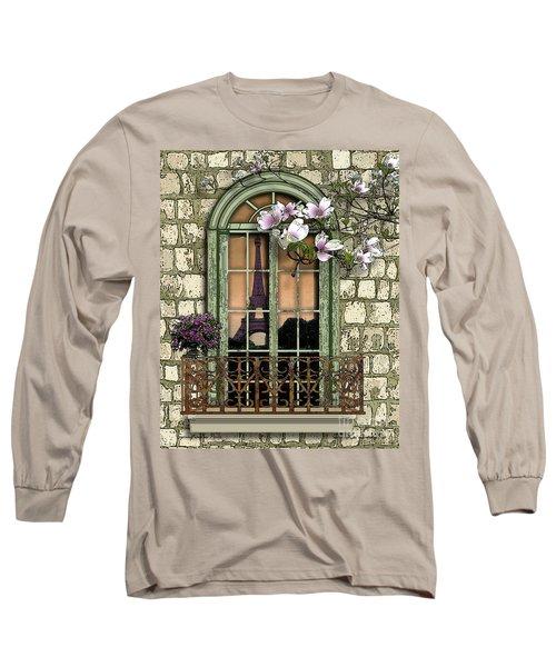 Springtime In Paris Long Sleeve T-Shirt