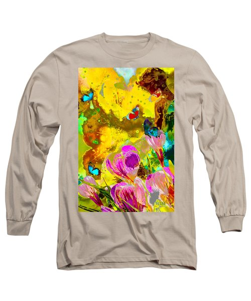 Springtime Splash Long Sleeve T-Shirt