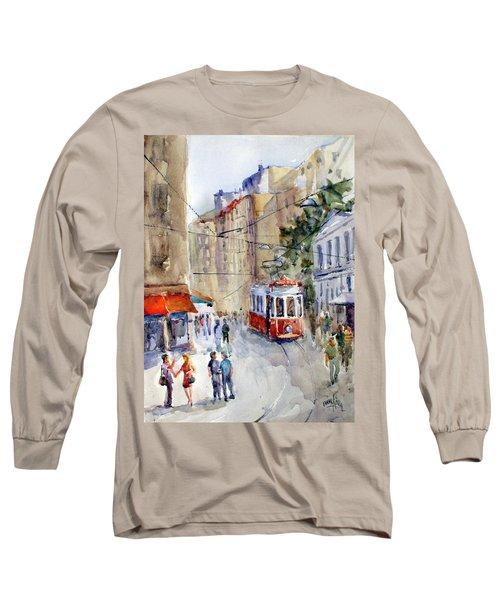 Square Tunel - Beyoglu Istanbul Long Sleeve T-Shirt