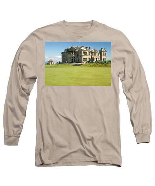 St Andrews Final Green And Clubhouse  Long Sleeve T-Shirt