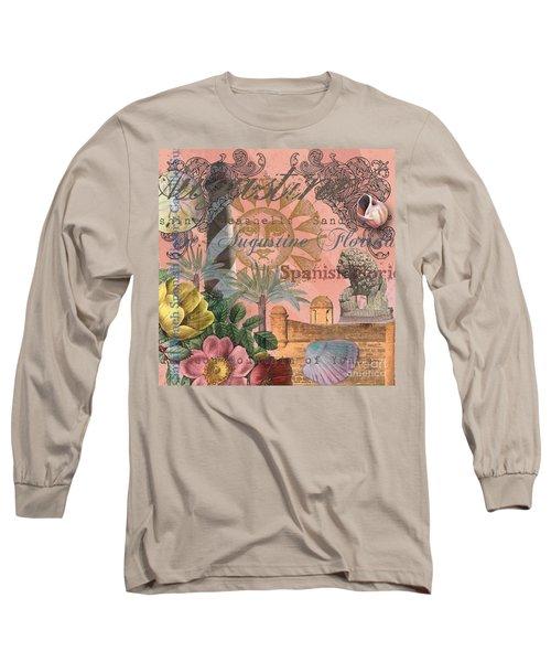 St. Augustine Florida Vintage Collage Long Sleeve T-Shirt