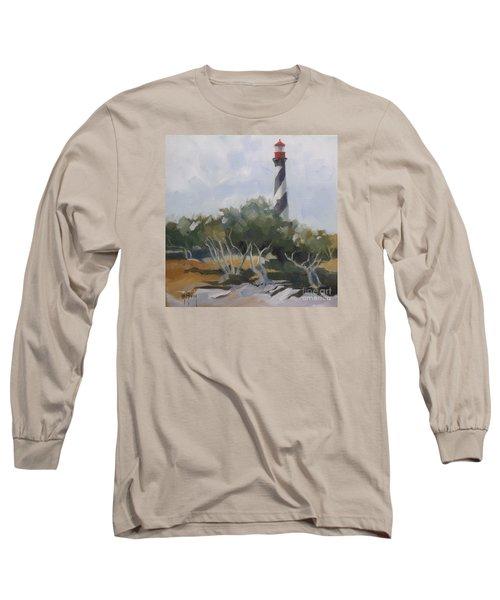 St Augustine Lighthouse First Light Long Sleeve T-Shirt