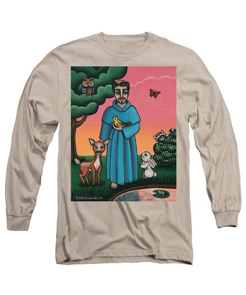 St. Francis Animal Saint Long Sleeve T-Shirt