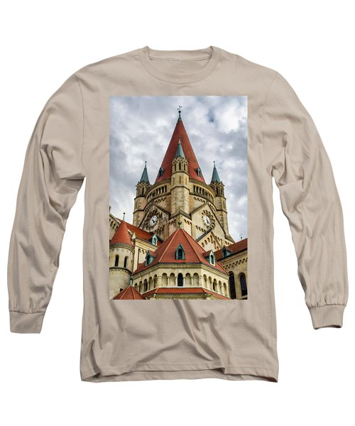 St. Francis Of Assisi Church In Vienna Long Sleeve T-Shirt