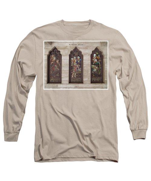 St Josephs Arcade - The Mission Inn Long Sleeve T-Shirt