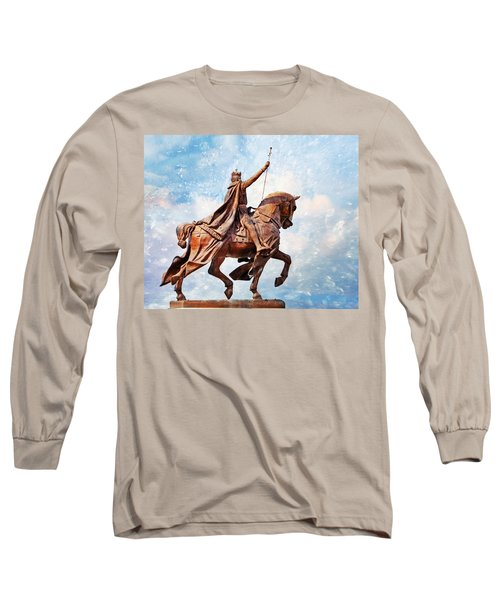 Long Sleeve T-Shirt featuring the photograph St. Louis 3 by Marty Koch