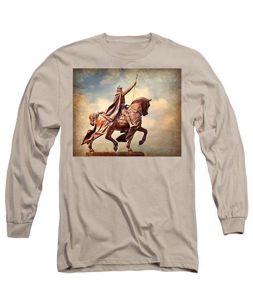 Long Sleeve T-Shirt featuring the photograph St. Louis 4 by Marty Koch