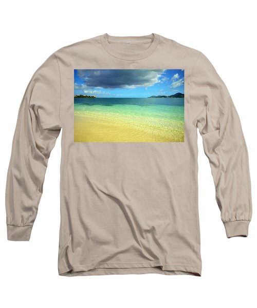 St. Maarten Tropical Paradise Long Sleeve T-Shirt