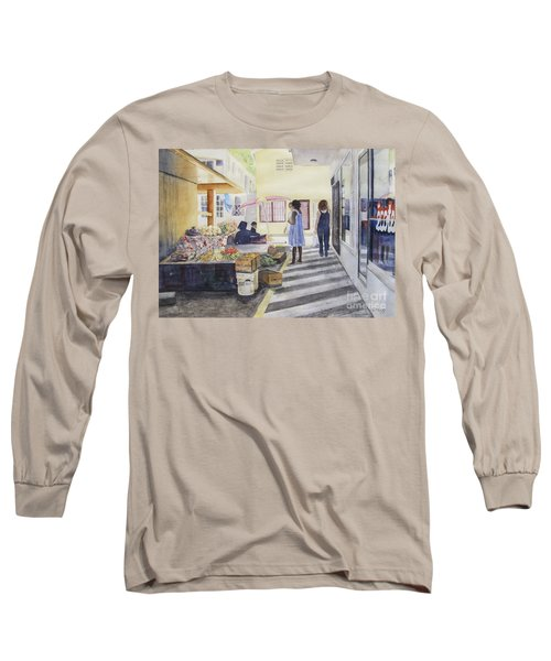 St Martin Locals Long Sleeve T-Shirt by Carol Flagg