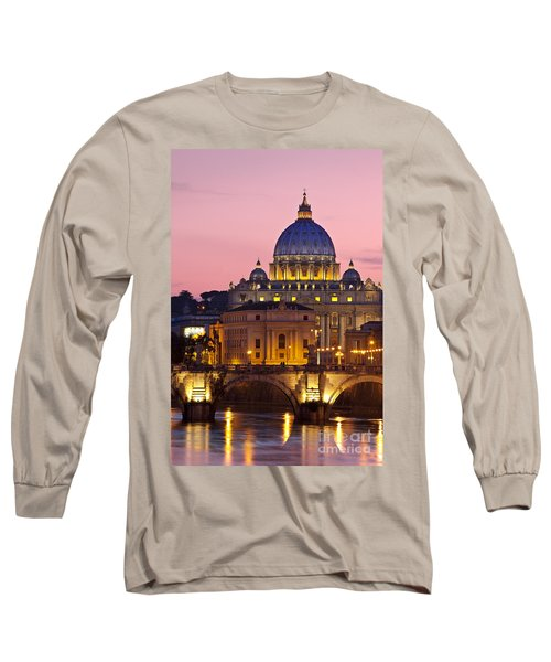 St Peters Basilica Long Sleeve T-Shirt
