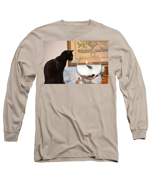 Stand Off Long Sleeve T-Shirt by Janice Spivey