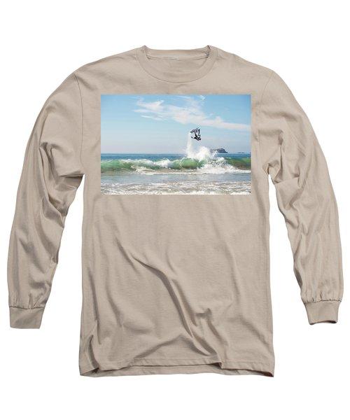 Stand Up Jet Ski Backflip Nac Nac Long Sleeve T-Shirt