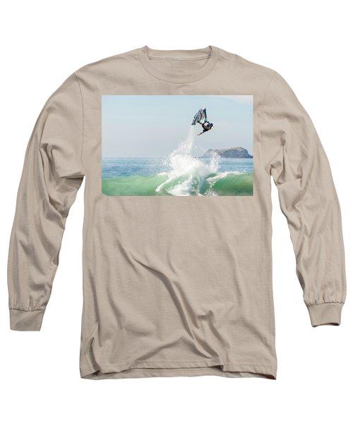 Stand Up Jet Ski Barrel Roll Nac Nac Long Sleeve T-Shirt