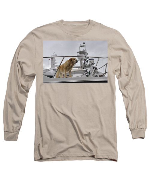 Standing Guard Long Sleeve T-Shirt by Cathy Mahnke