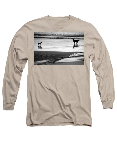 Standoff At The Beach Long Sleeve T-Shirt